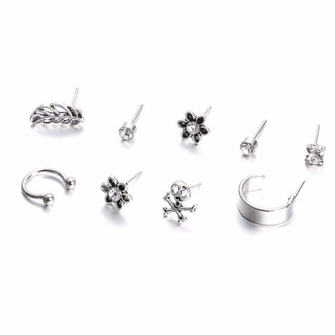 "Pack Pendientes Ear Cuff ""Trolley"""