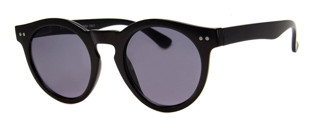Smoke Lens Black Frame Sunnies - Poppy and Stella