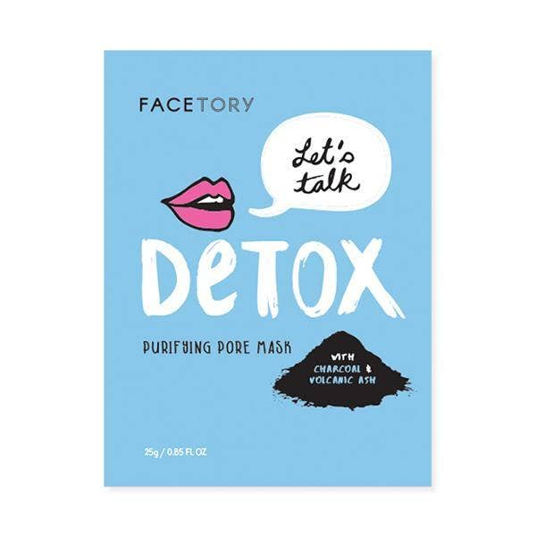 Face Mask l Let's Talk Detox - Poppy and Stella