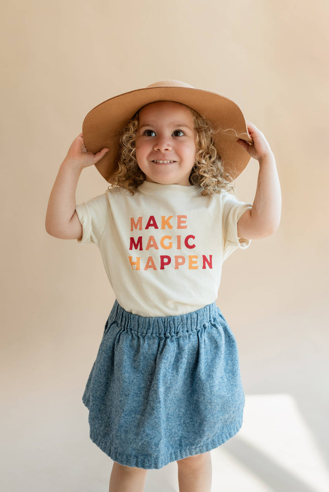 Make Magic Happen | Kid/Toddler Tee - Poppy and Stella