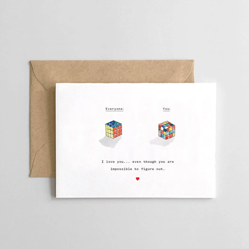 Card | Rubiks Love
