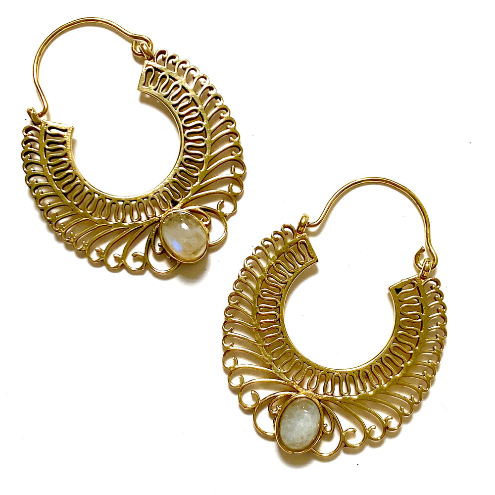 Aju Moonstone Earrings