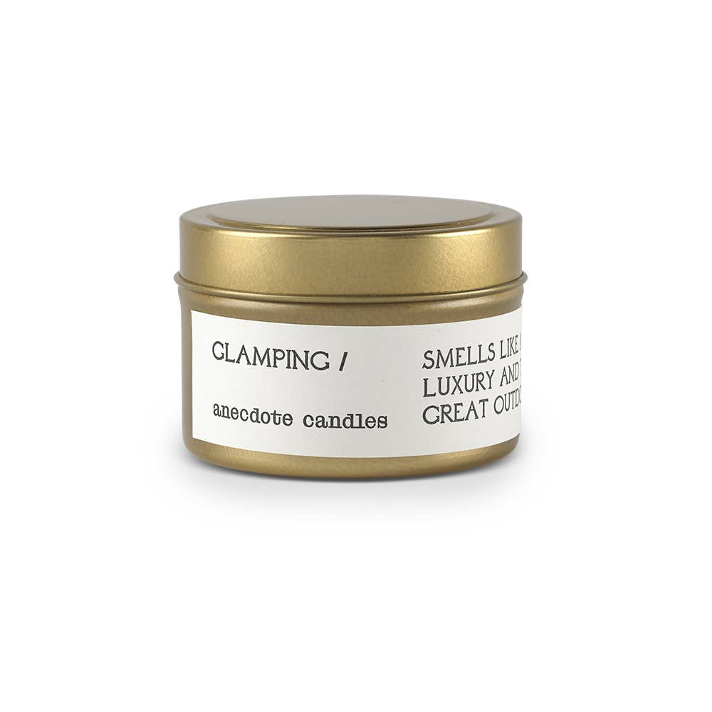 Candle | 'Glamping' Tin - Poppy and Stella