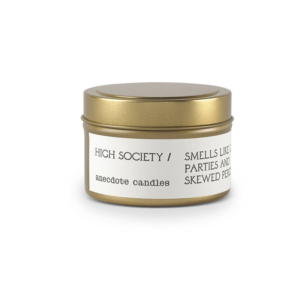 Candle | 'High Society' Tin - Poppy and Stella