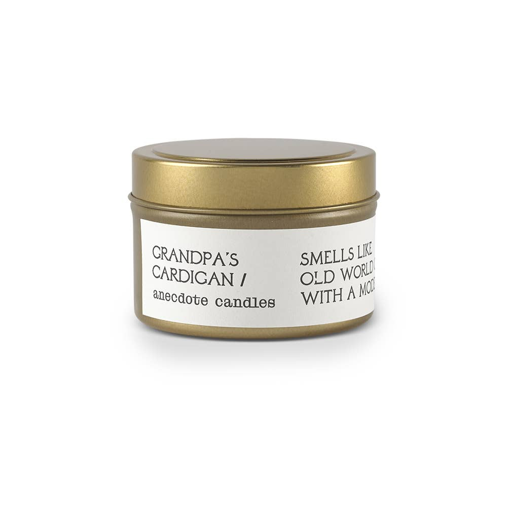 Candle | 'Grandpa's Cardigan' Tin