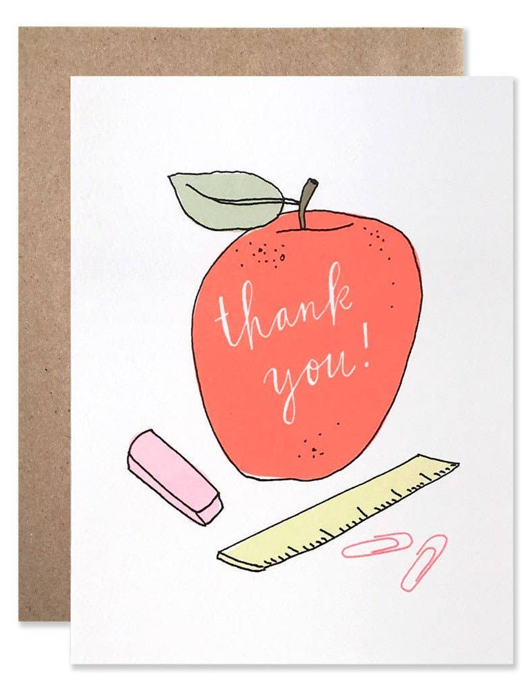 Card | Thank You Teacher - Poppy and Stella