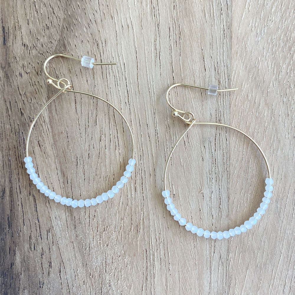 Michelle Hoop Earrings
