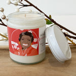 Icon Collection Jar Candle | Maya Angelou / Winter Rose