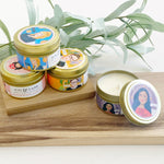 Icon Collection Tin Candle | Mindy Kaling / Sugar & Huckleberry