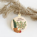 Christmas Plants Ornament