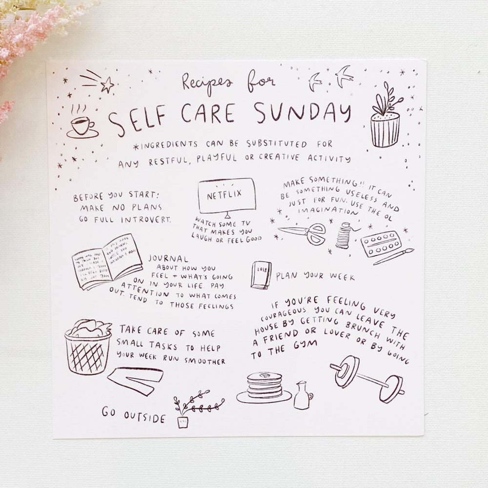 Art Print | Self Care