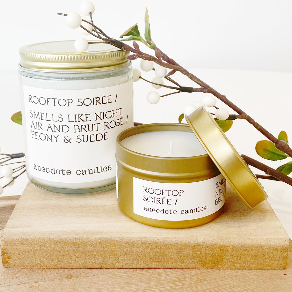 Candle | 'Rooftop Soiree' Tin
