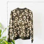 Reagan Cheetah Sweater | Extended Size