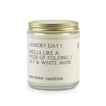 Candle | 'Laundry Day' Jar