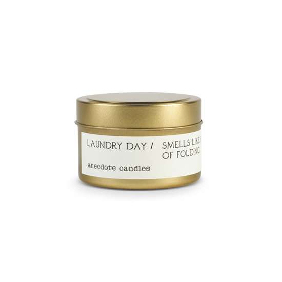 Candle | 'Laundry Day' Tin