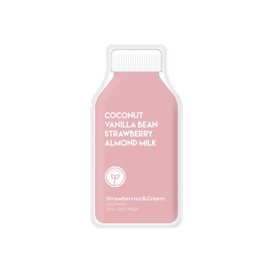 Strawberries & Cream Soothing Raw Juice Mask