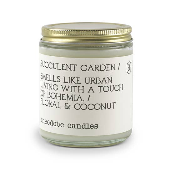 Candle | 'Succulent Garden' Jar - Poppy and Stella
