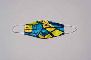 Fashion Mask Tropical Blue