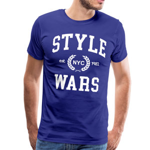 Style Wars Graffit T-shirt - royal blue
