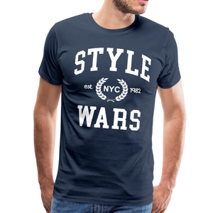 Style Wars Graffit T-shirt - navy