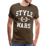 Style Wars Graffit T-shirt - noble brown