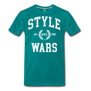Style Wars Graffit T-shirt - teal
