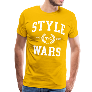 Style Wars Graffit T-shirt - sun yellow
