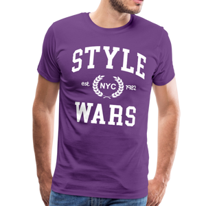 Style Wars Graffit T-shirt - purple