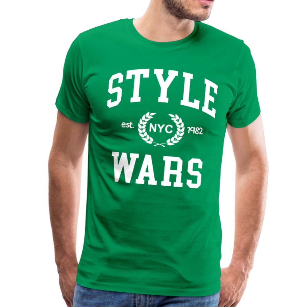 Style Wars Graffit T-shirt - kelly green