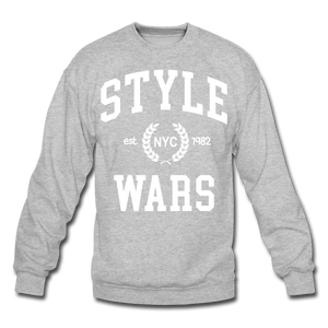 Style Wars Crewneck - heather gray
