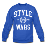 Style Wars Crewneck - royal blue