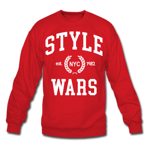 Style Wars Crewneck - red