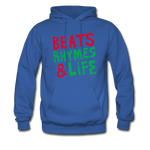 Beats Rhymes Hoody - royal blue