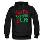 Beats Rhymes Hoody - black