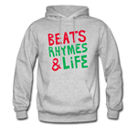 Beats Rhymes Hoody - heather gray