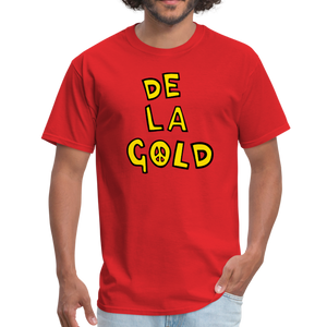 De La Gold T-shirt - red