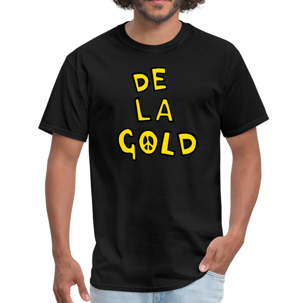 De La Gold T-shirt - black