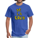 De La Gold T-shirt - royal blue