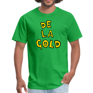 De La Gold T-shirt - bright green