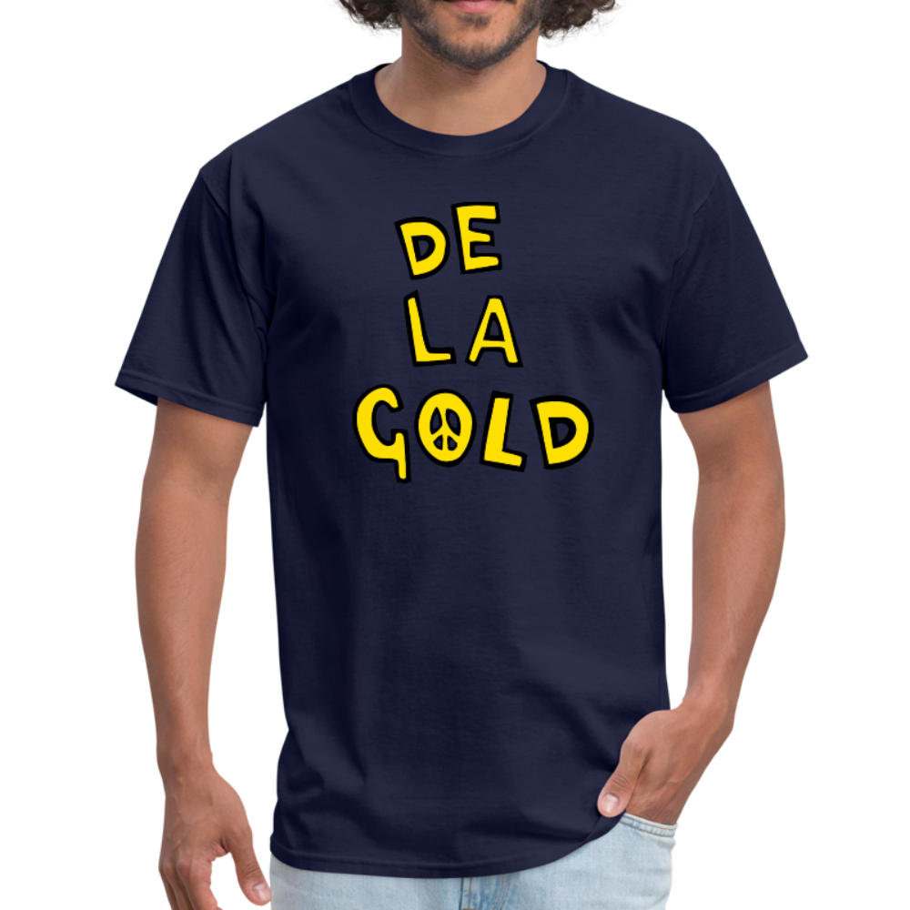 De La Gold T-shirt - navy