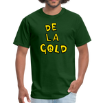 De La Gold T-shirt - forest green