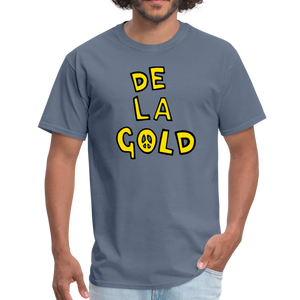 De La Gold T-shirt - denim