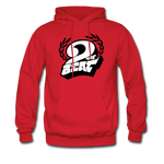 2 the Beat Hoodie - red