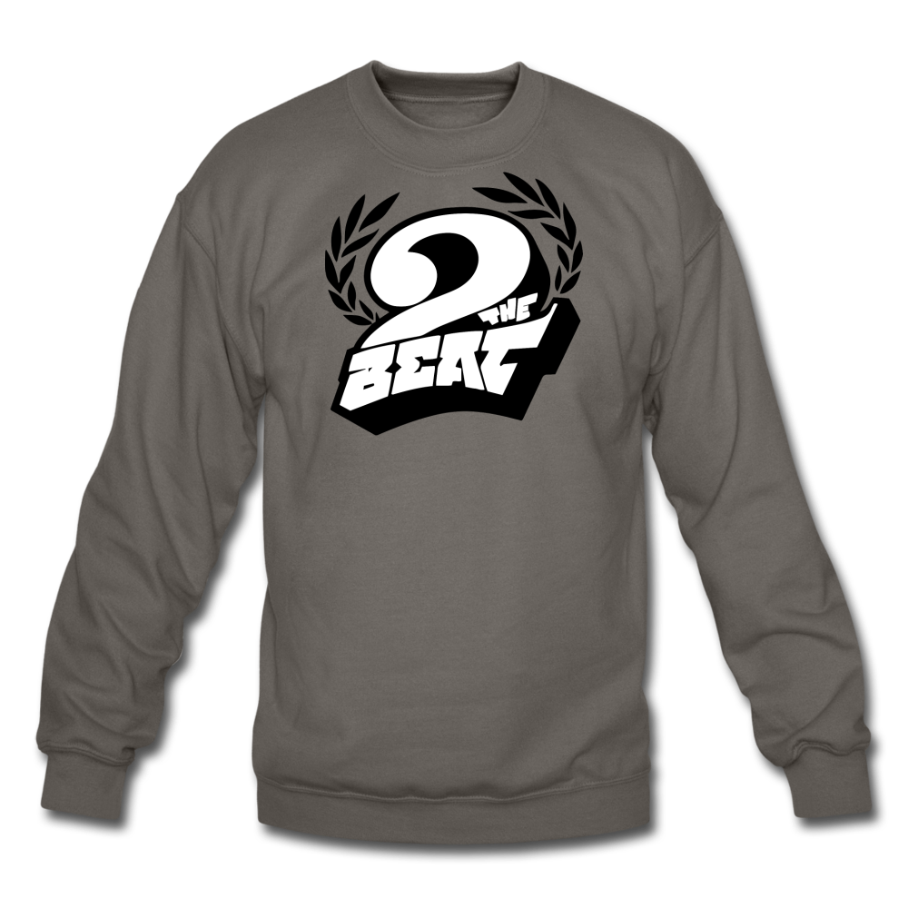 2 the Beat Crewneck Sweatshirt - asphalt gray