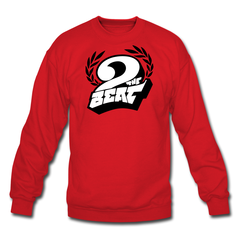 2 the Beat Crewneck Sweatshirt - red