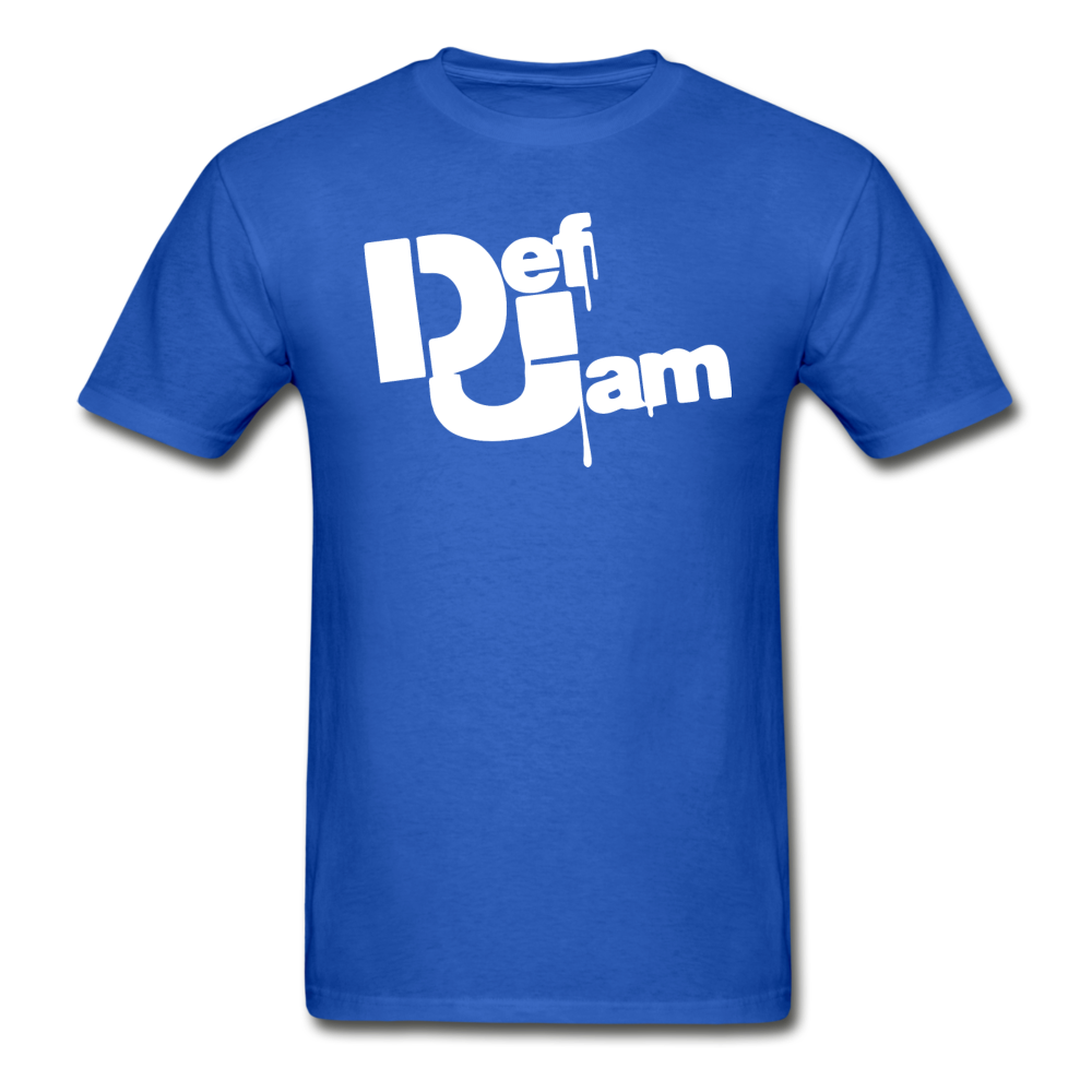 DEF JAM Graffiti T-Shirt - royal blue