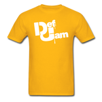 DEF JAM Graffiti T-Shirt - gold