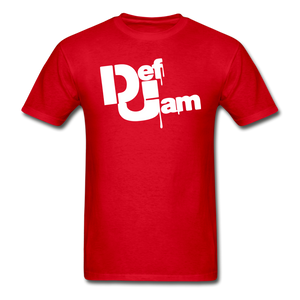 DEF JAM Graffiti T-Shirt - red