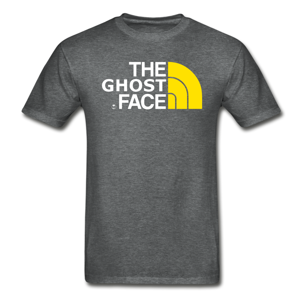 The Ghost Face T-Shirt - deep heather