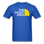 The Ghost Face T-Shirt - royal blue